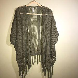 POL, short sleeve sweater